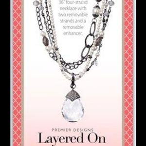 Premier Designs Necklace Layered on